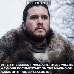 The documentary will air on May exactly one week after the final episode of GoT on the same time slot. This documentary will be awesome! Who is excited? Alfie Allen, Catelyn Stark, Game Of Thrones Facts, Nikolaj Coster Waldau, The North Remembers, One Week, Best Series, Music Tv, Winter Is Coming