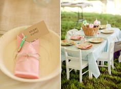 Some | Virginia Wedding Photographer | Katelyn James Photography kiddie table to the right