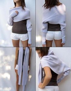 Шарф или свитер?