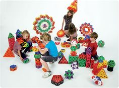 Kids can build anything they dream up with Triqo!