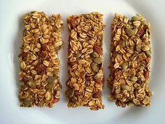 Chewy Pumpkin Spice Granola Bar (vegan, gluten-free, agave-sweetened)