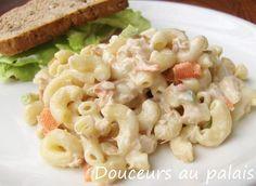 Douceurs au palais: Salade de macaroni au thon