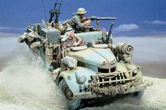 II Guerra Mundial - Ratos do deserto (WWII - Desert rats)