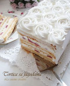La cuisine creative: Beze torta sa jagodama