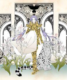 聖闘士星矢 Saint Seiya fanart : Aries Mu / 牡羊座のムウ