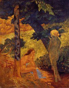 Cave to Canvas, Paul Sérusier, Bathers, c. 1911-14
