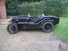 Austin 7 Ulster (rep) engineered and built by John Miles