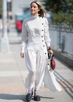 5 Ways To Wear The Polka Dot Trend That's Everywhere+#refinery29