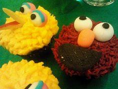 レシピとお料理がひらめくSnapDish - 1件のもぐもぐ - Sesame Street Choco Cupcakes by Tina by JeiFer