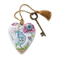 Art Hearts Kind in Heart found at the ChristmasOrnamentStore.com year round...