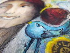 Bluebird of Happyness  - Kunst von Piarom