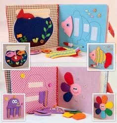 Libro tranquillo per bambini libro occupato Eco di MiniMoms