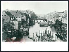 Spree von den kgl. Mühlen BERLIN 1897