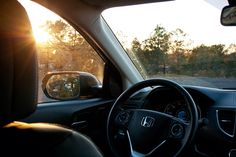 The sun sets on another day of adventure in your CR-V.