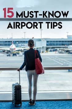 15 Extremely Helpful Airport Tips for Travelers - Travel destinations, travel quotes, travel tips, travel bucket list and everything Travelling Tips, Packing Tips For Travel, Travel Advice, Travel Quotes, Travel Hacks, Travel Essentials, Airplane Essentials, Packing List Beach, Air Travel Tips
