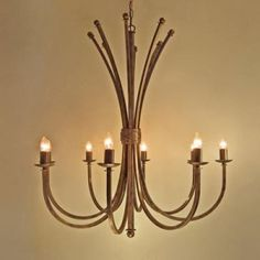 Wrought Iron Chandeliers A1081 Cape Town