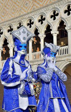 Carnival in Venice, ITALY. (by pedro lastra, via Flickr),  province of Venezia , Veneto region