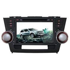 K-Navi 8 Inch 1024*600 Car Bluetooth DVD Player Multimedia GPS Navigation System Android For Toyota Highlander 2008-2011 - For Sale