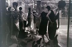 Window display, Regent Street, London, around December 1962 by allhails