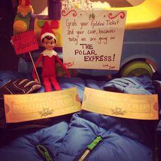 Elf & polar express surprise!