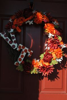 Hokie wreath!