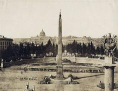 piazza del Popolo 1855