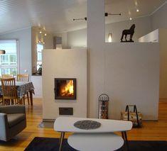 kaksipuoleinen takka ja leivinuuni, uunimuurari Petteri Stubb Home Decor, Home, Decor, Fireplace