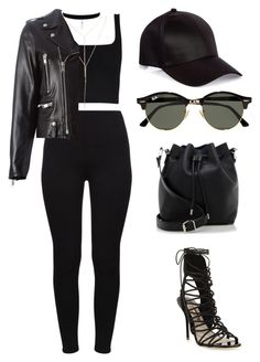 """Untitled #476"" by amoney-1 ❤ liked on Polyvore featuring River Island, Proenza Schouler, Sophia Webster, Wet Seal, Yves Saint Laurent and Ray-Ban"