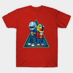 Daft Punk Kids - Mens T-Shirt
