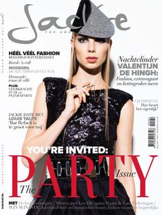 VALENTIJN DE HINGH | JACKIE MAGAZINE DECEMBER / JANUARY,2013-2014 COVER