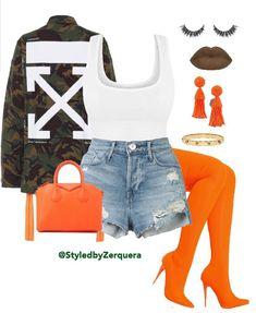 IG•StyledByZerquera; CallHer.Sassy Fashion Killa, Diva Fashion, Fashion Tips, Fashion Outfits, Urban Fashion, Plus Fashion, I Love Fashion, Autumn Fashion, Womens Fashion