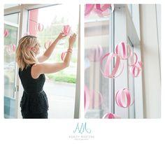 Confetti and Sparkle Party Shop {Creative Spotlight} diy ombré hanging paper balls.