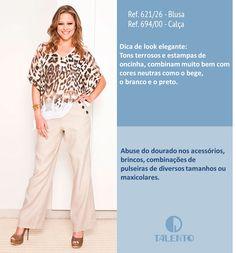 Look elegante | Oncinha + Bege