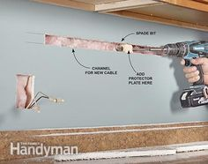 Fishing Electrical Wire Through Walls | Electrical Repair and Wiring ...