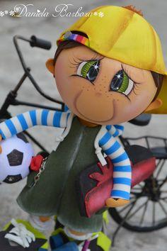 Arte em E.V.A. by Dani Barboza: Fofucho Meu garoto
