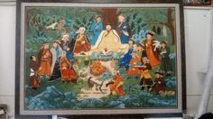 Mongol zurag khishigbaatar khubilai khaan 2015 Painting, Art, Art Background, Painting Art, Kunst, Paintings, Performing Arts, Painted Canvas, Drawings