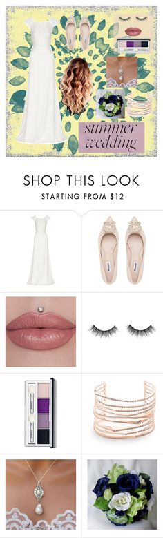 """""""Summer Wedding"""" by cnb37 ❤ liked on Polyvore featuring Rime Arodaky, Clinique, Alexis Bittar, Summer, wedding and summerwedding"""