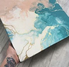 Hannah Collins Shares Fluid Art Tips along with some of Instagram's favorite artists