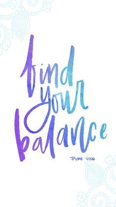 Find Your Balance | Pura Vida Digi-downloads