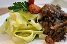 "Slow Cooker Garlic Citrus Short Ribs with ""Faux""-ttuccine Noodles – Happy Healthnut"