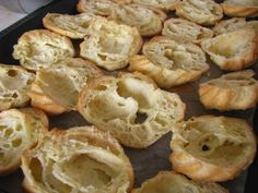 veerniky rozrezane Yummy Cakes, Shrimp, Bread, Food, Brot, Essen, Baking, Meals, Breads
