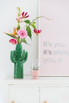 5x de leukste manieren om jouw huis te stylen met een cactus - Alles om van je huis je Thuis te maken | HomeDeco.nl