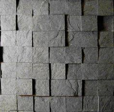 Cool product - Slate-ish. Made from post-industrial paper into slate-looking tiles. Saw it used on a DIY show recently.