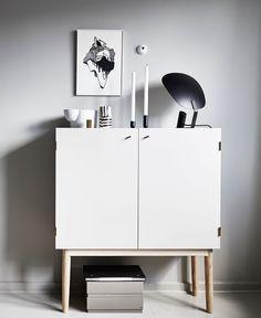 Small home in grey tones - via cocolapinedesign.com