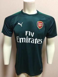 be23f4d55 Arsenal FC Third 16-17 Season Soccer Shirt  4 MERTESACKER Jersey ...