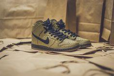 Nike SB Dunk High Premium Brown Paper Bag