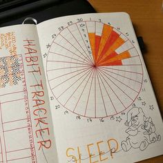bullet journal sleep tracker