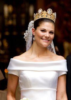 księżniczka koronna Szwecji [księżna Västergötland] Wiktoria [19.VI.2010r. - ślub]