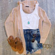 Marsden Cardigan - Peach Goals, GOAls, GOALS!! More Fashion Goals For Me And Teens! #ootd
