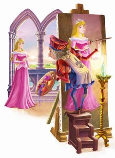 Disney Princess Photo: Princess Aurora and Prince Philip Disney Dream, Disney Love, Disney Magic, Disney And Dreamworks, Disney Pixar, Walt Disney, Sleeping Beauty Maleficent, Disney Sleeping Beauty, Princesse Aurora